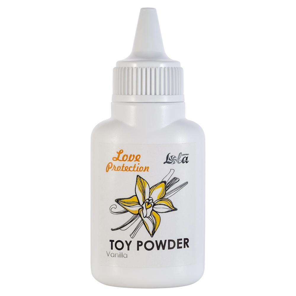 Пудра для игрушек ароматизированная Love Protection Ваниль 15гр 1824-00Lola