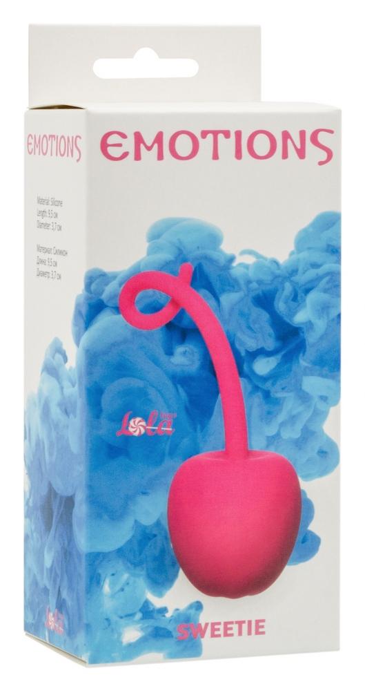 Стимулятор со смещенным центром тяжести Emotions Sweetie Pink 4004-02Lola