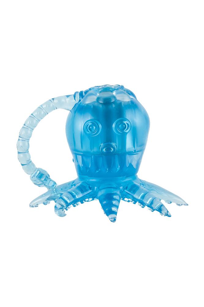 Вибростимулятор осьминог МС01030005blue