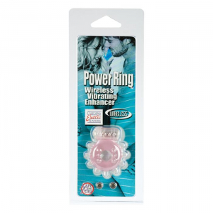 Виброкольцо на пенис Silicone Power Pink 1446-04CDSE