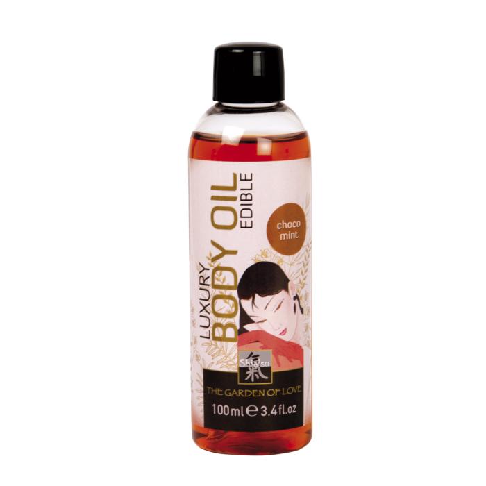 Масло съедобное для тела с Шоколадно-мятным ароматом 100мл 66019