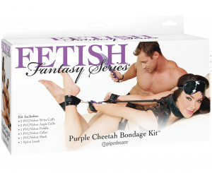 Набор для бондажа FF CHEETAH BONDAGE KIT PURPLE 210612PD