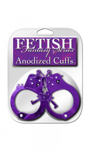 Наручники FF ANODIZED CUFFS PURPLE 381612PD
