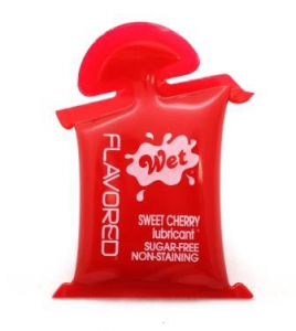 Лубрикант Wet Flavored Sweet Cherry подушечка 10mL 23406wet
