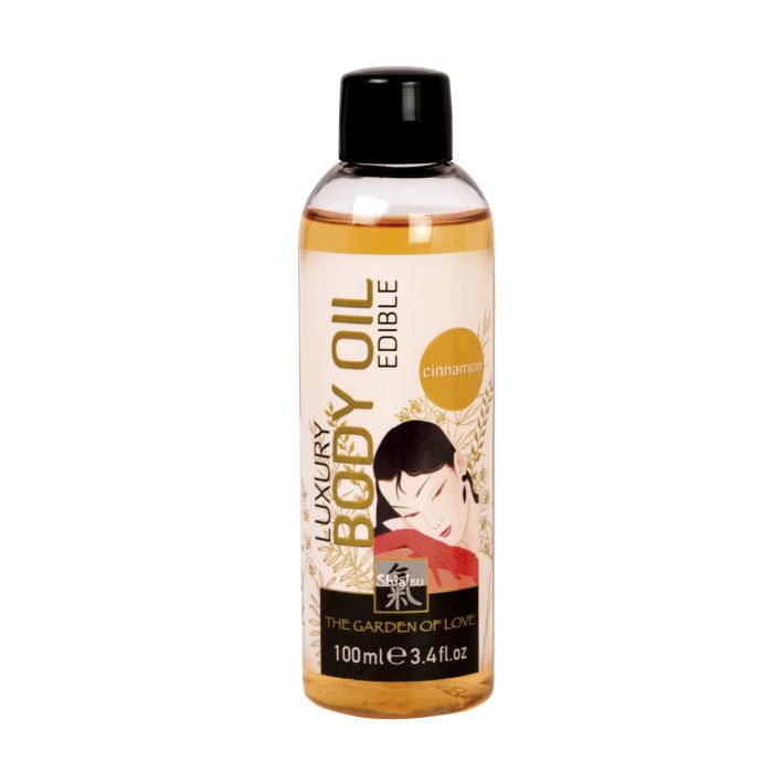 Масло съедобное для тела с ароматом Корицы 100мл 66018