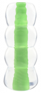 Мастурбатор Neon Jelly Stroker Green 311516PD
