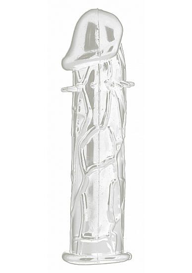 Насадка Realistic Penis Extension Transparent SH-SHT118TRA