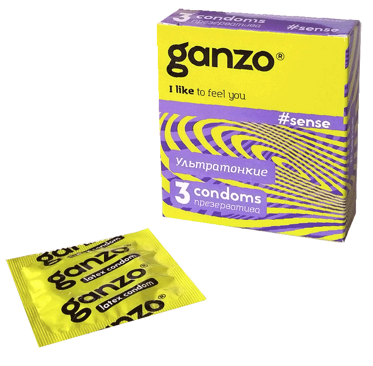 Презервативы GANZO Sense No3