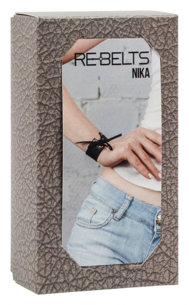 Браслет со шнуровкой Nika Black 7725rebelts