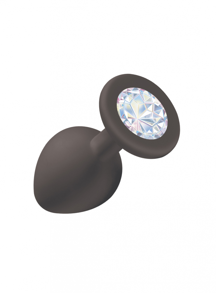Анальная пробка Emotions Cutie Medium Black moonstone crystal 4012-08Lola