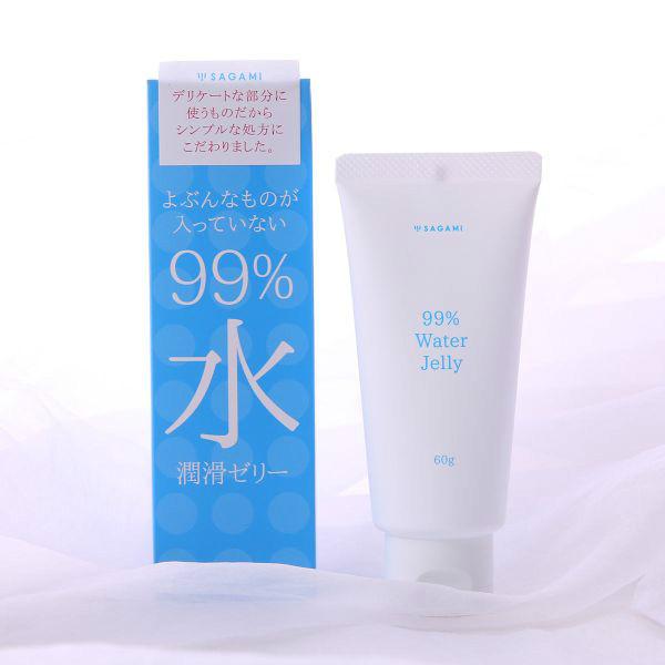 Гель-смазка на водной основе 99% Sagami Original (60 гр)