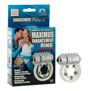 Виброкольцо Maximus Ring 5 Stroke Beads 1456-10BXSE