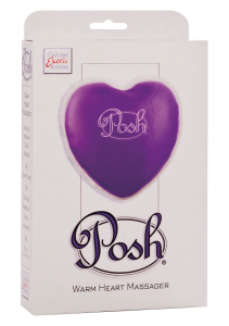 Теплый массажер Posh Warm Heart Massagers Purple 2094-40BXSE