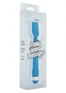 Массажер FUNKY WAND MASSAGER BLUE 10151TJ