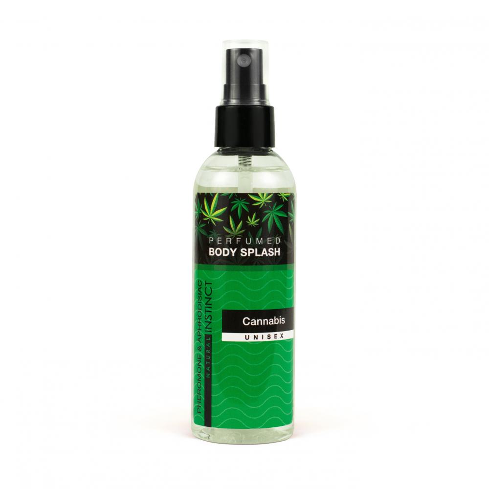 Парфюмированная вода для тела Body Splash Cannabis 100ml 1169-sl