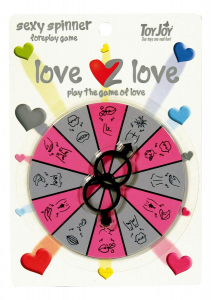 Эротическая игра LOVE2LOVE SPINNER FOREPLAY GAME 9778TJ