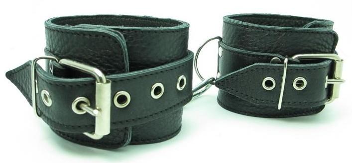 Кожаные наручники 51005ars