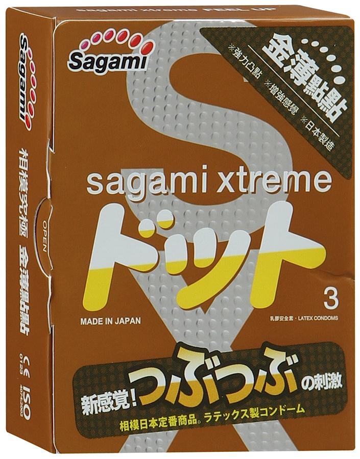 Презервативы Sagami №3 Xtreme Feel UP Sag4655