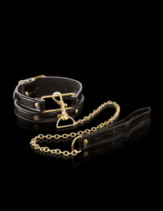Ошейник FF GOLD COLLAR & LEASH 397823PD