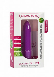 Вибратор Power Bullet Purple SH-SHT048PUR