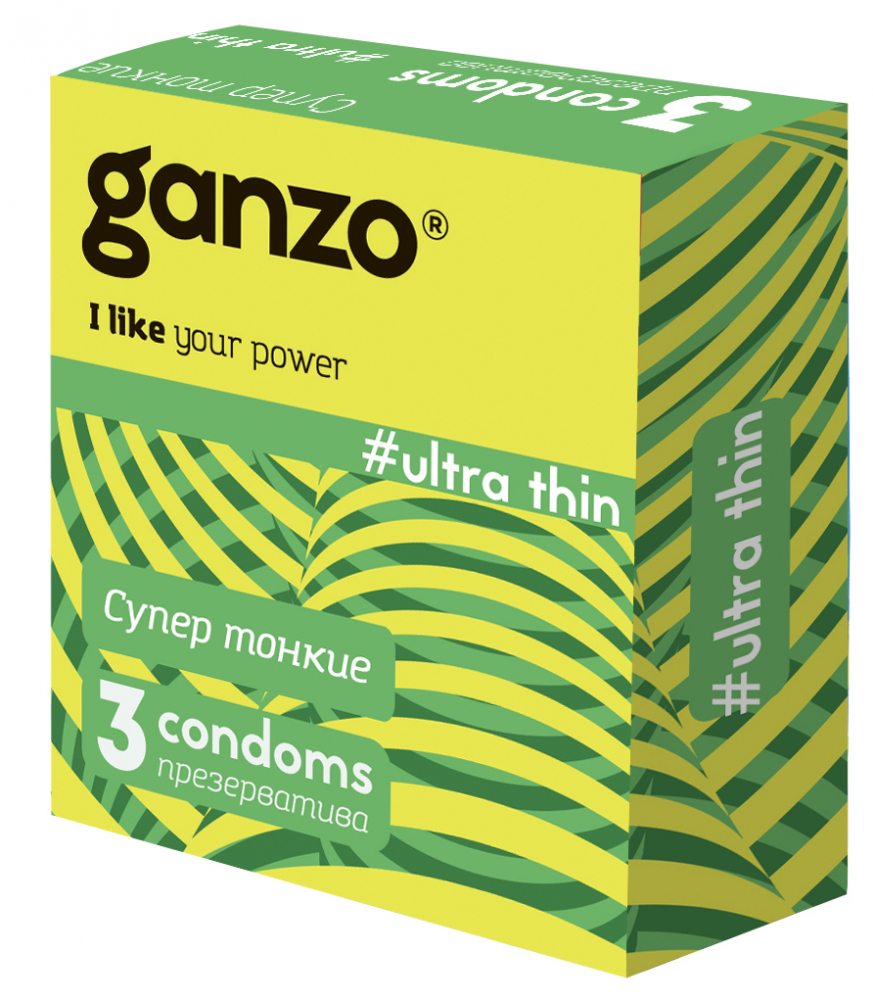 Презервативы GANZO Ultra Thin No3