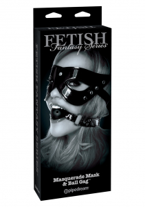 Кляп FFLE MASQUERADE MASK & BALL GAG 444723PD