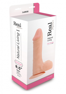 Фаллоимитатор DILDO REAL RAPTURE FLESH 8.5 INCH T4L-00700684