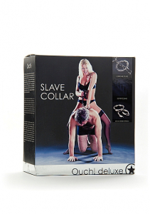 Ошейник раба Luxury Slave Collar SH-OULUX006