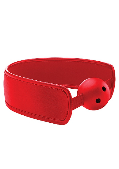 Кляп Brace Balll OUCH! Red SH-OU121RED