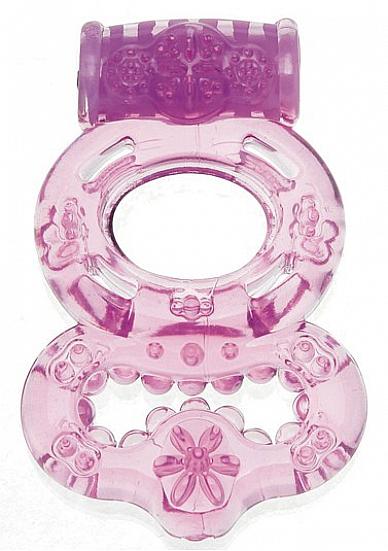 Вибрирующее кольцо Purple SH-SHT005PUR