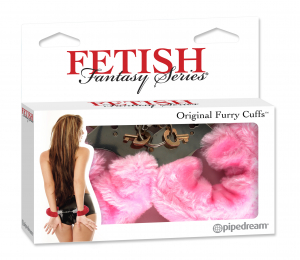 Наручники FF FURRY CUFFS - PINK 380411PD