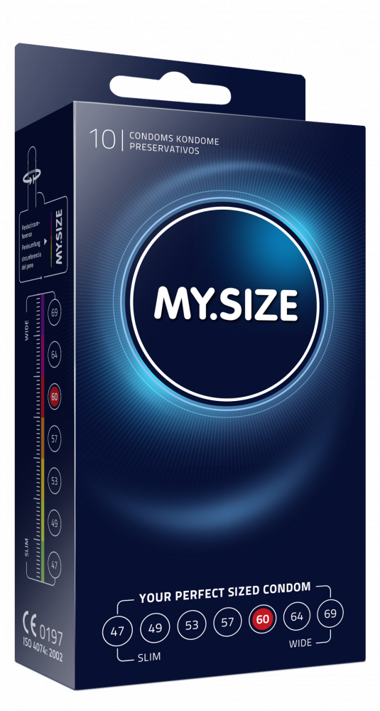 Презервативы MY.SIZE №10 размер 60 4304MS