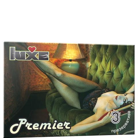 Презервативы Luxe PREMIER №3