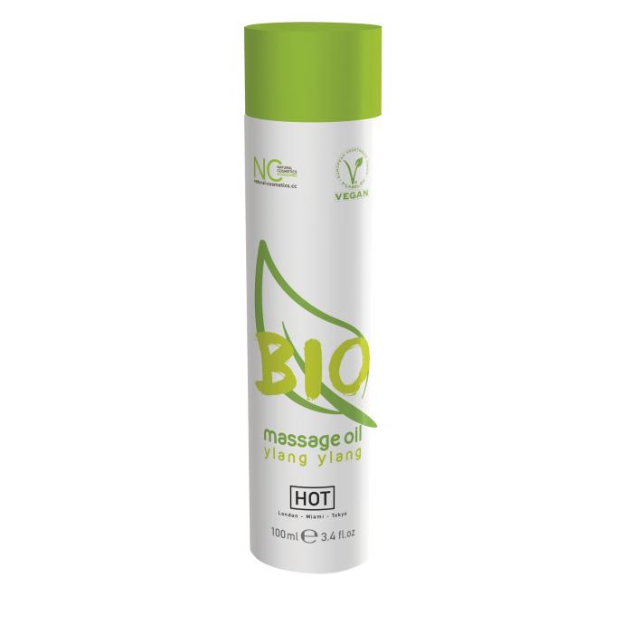 Массажное масло HOT BIO Massage oil ylang ylang 100 мл 44150