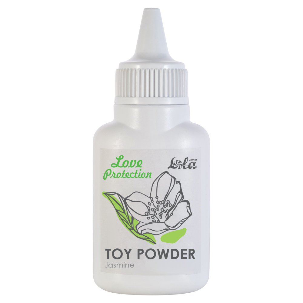 Пудра для игрушек ароматизированная Love Protection Жасмин 15гр 1822-00Lola