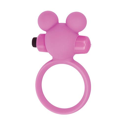 Эрекционное виброкольцоTeddy розовое T4L-801785