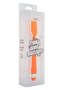 Массажер FUNKY WAND MASSAGER ORANGE 10149TJ