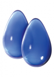Стимуляторы CRYSTAL LARGE GLASS EGGS BLUE NSN-0703-27