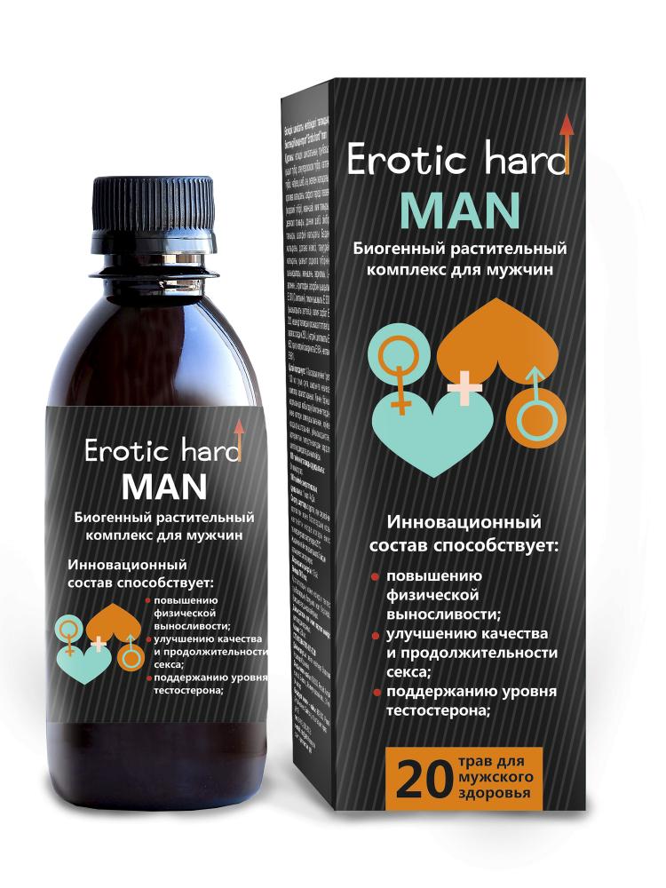"""Мужской Биогенный Концентрат для Усиления Эрекции """"Erotic hard"""" Man 5010Eh"""