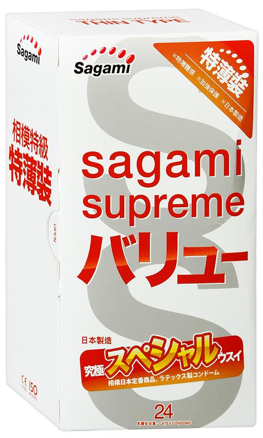 "Презервативы Sagami Xtreme 0.04 mm 24""S"