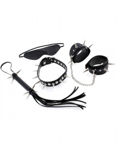 Набор для бондажа FF Rock Hard Bondage Kit Black 382323PD