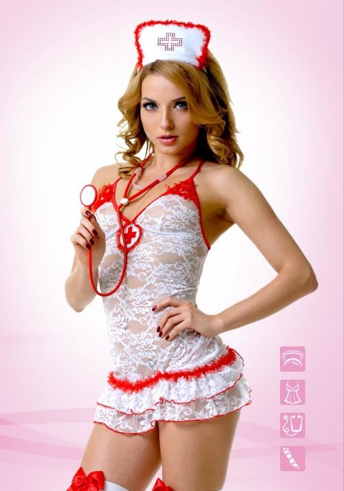 Костюм Медсестры кружевной L/XL 02893L/XL