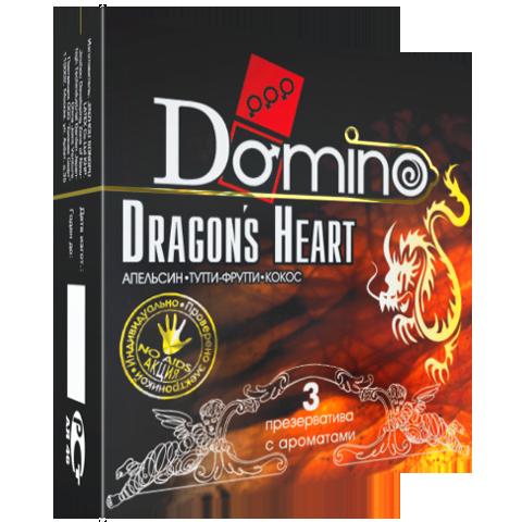 Презервативы Domino Dragon's Heart №3