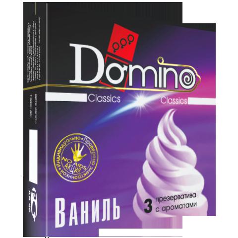 Презервативы Domino Ваниль №3