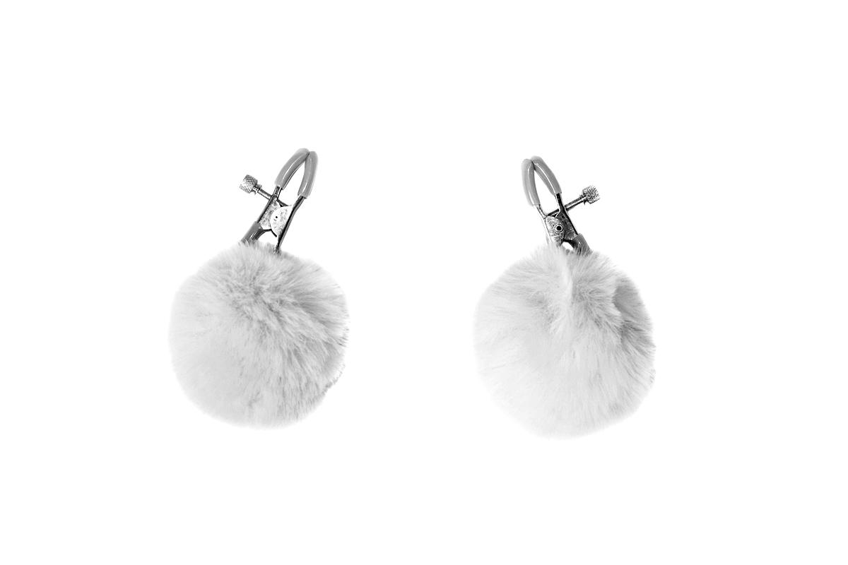 Зажимы на Cоски Party Hard Angelic White 1140-01lola