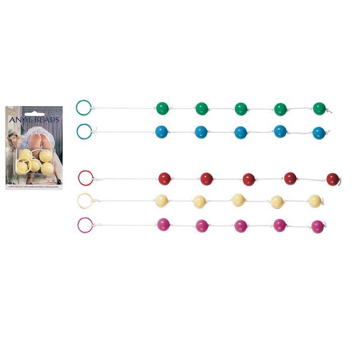 Анальная цепочка с пятью звенями
