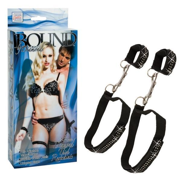 Комплект для бондажа Bound By Diamond Thigh Restraints