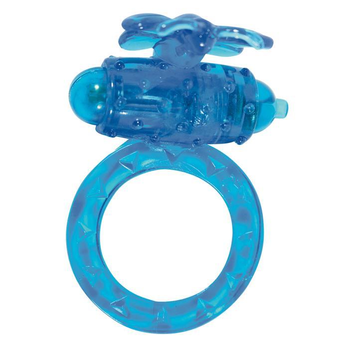 Виброкольцо на пенис Flutter-Ring Blue