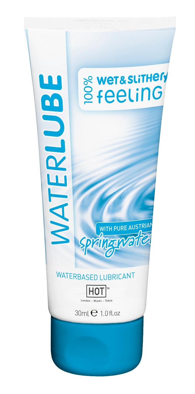 Лубрикант на основе чистой родниковой воды WaterLube 30мл