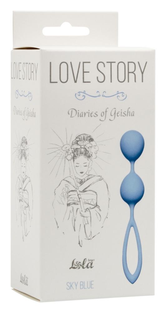 Вагинальные шарики Love Story Diaries of a Geisha Sky Blue 3005-04Lola